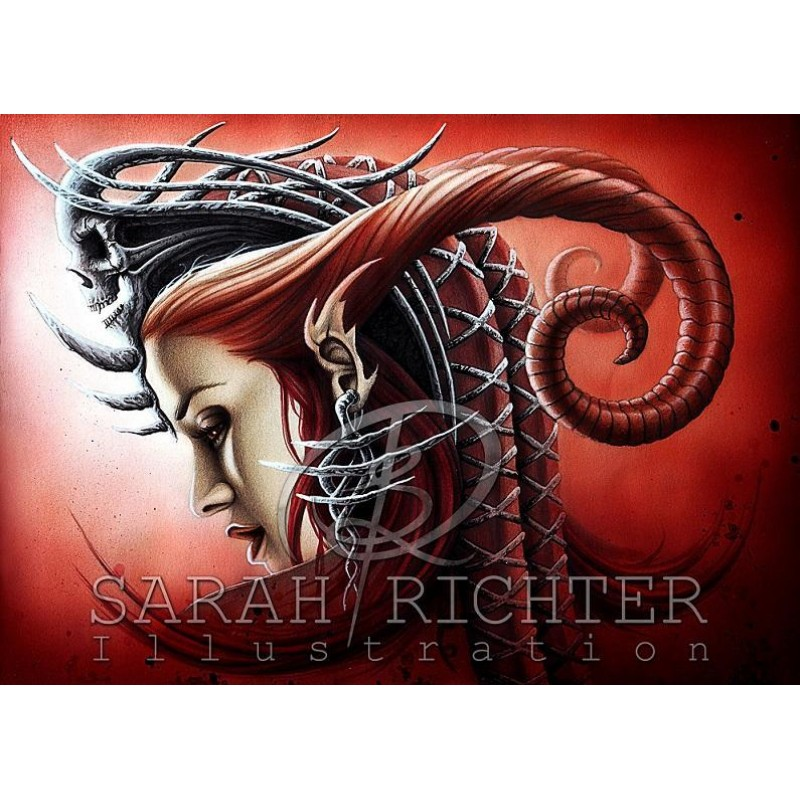 Sarah Richter Queen Evil ...