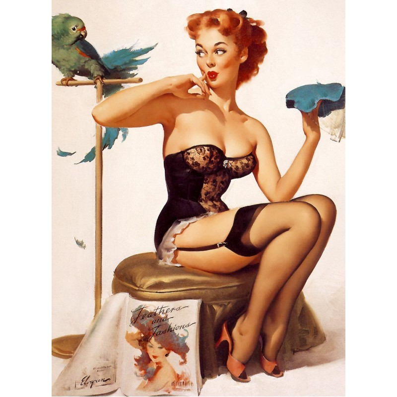 Pinup Polly Diamond Paint...