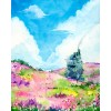 Penelope Love Prints Howl's Moving Castle Diamond Painting Kit