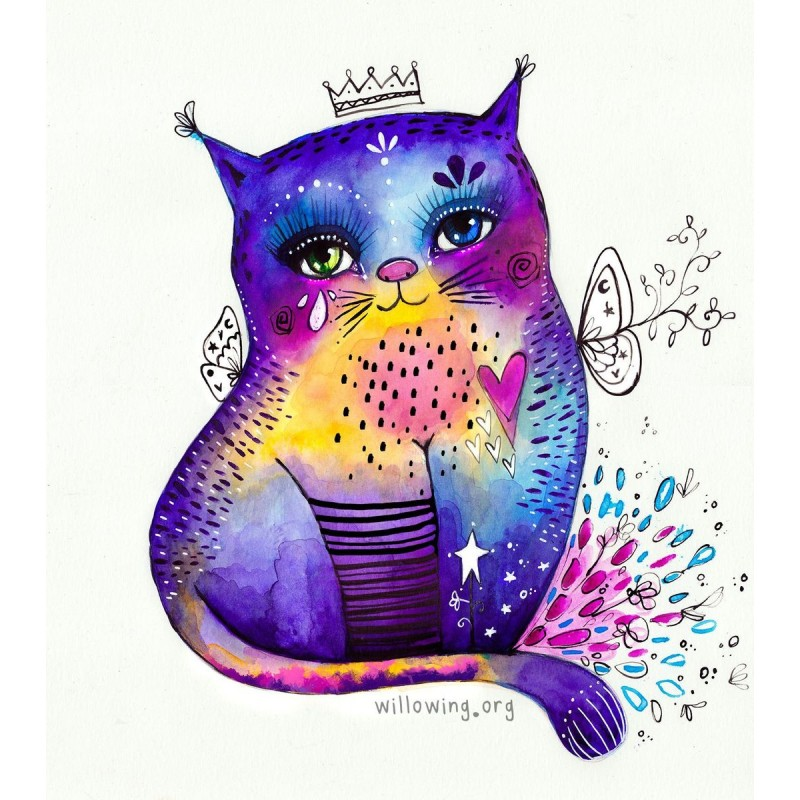 Willowing Arts Kitty...
